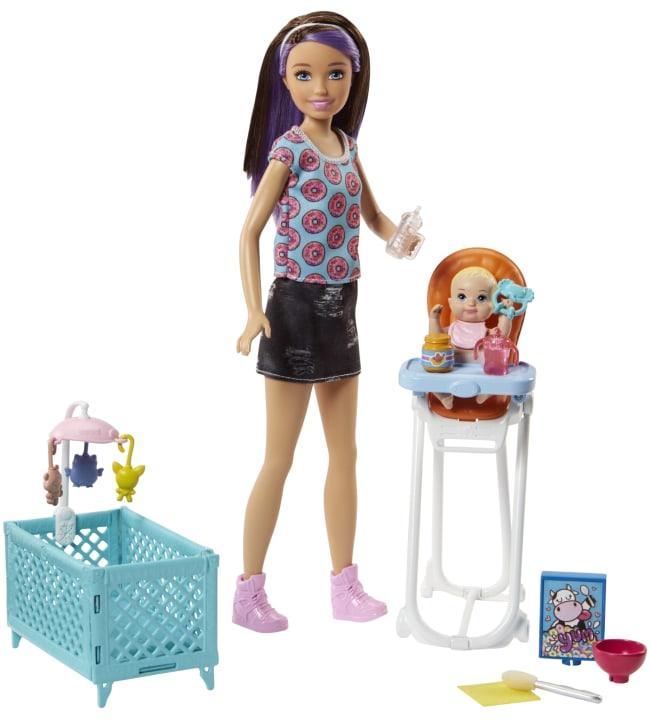 Barbie Skipper Babysitter Playset nukke