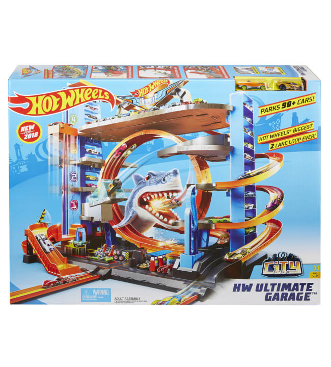 Hot Wheels Ultimate Mega Garage parkkitalo