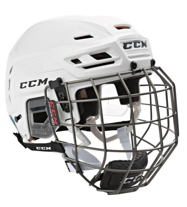 CCM Tacks 710 Combo SR jääkiekkokypärä