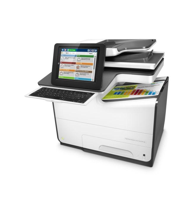 HP PageWide Enterprise ColorFlow MFP 586z monitoimitulostin