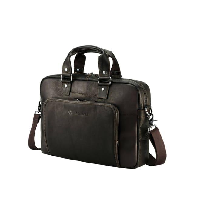 "HP Exclusive Top Load 14"" Columbian Leather Case kannettavan laukku"