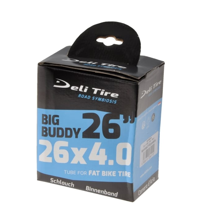 """Deli Fatbike 26"""" 100-559 autonventtiili 35 mm sisärengas"""