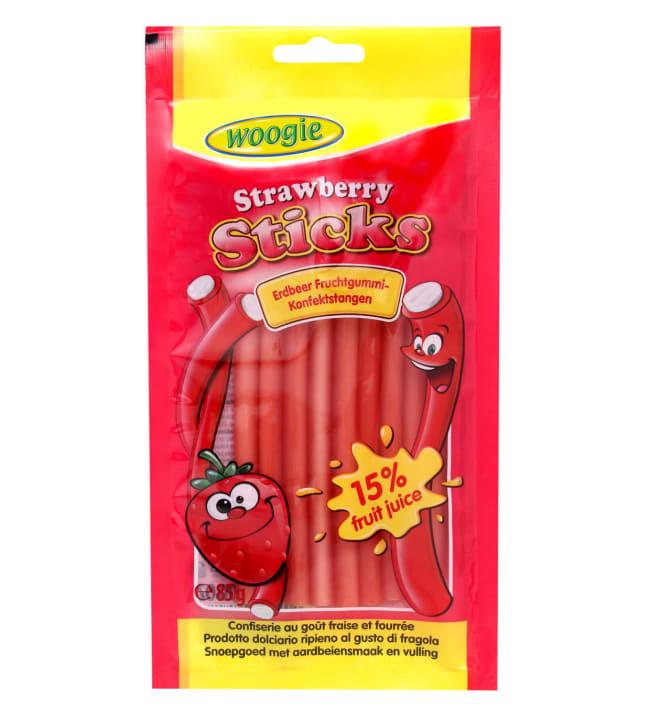 Woogie Strawberry 85 g makeispuikko