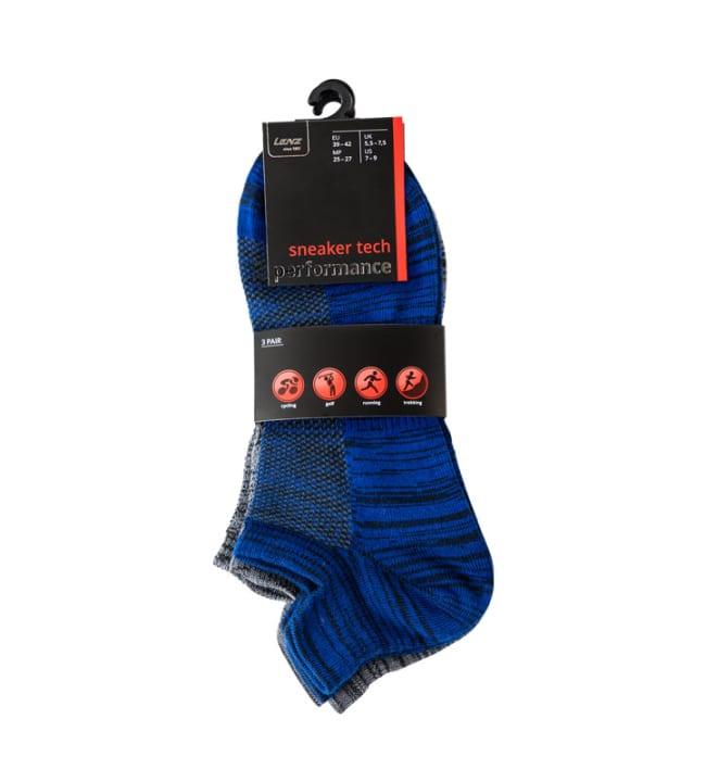 Lenz Sneaker Tech 3-pack vapaa-ajan sukat
