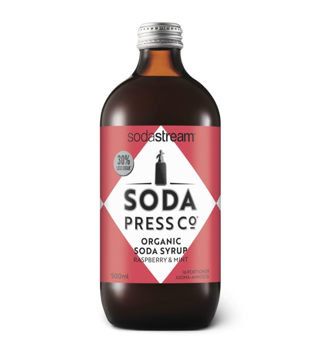 SodaStream Soda Press Raspberry & Mint luomu juomatiiviste