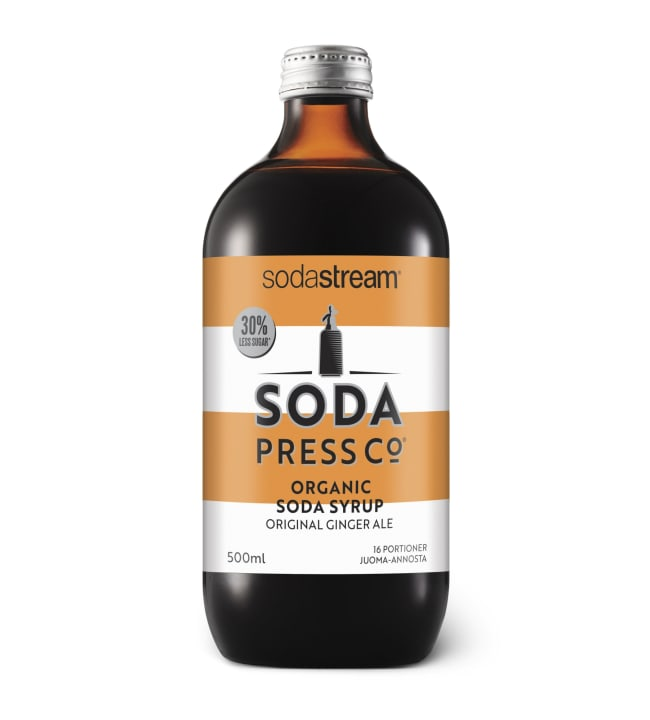 SodaStream Soda Press Original Ginger Ale luomu juomatiiviste