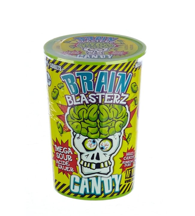 Brain Blasterz 48 g karkkipurkki