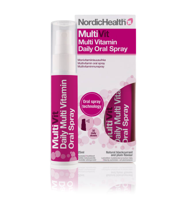 NordicHealth Monivitamiini 25 ml suusuihke