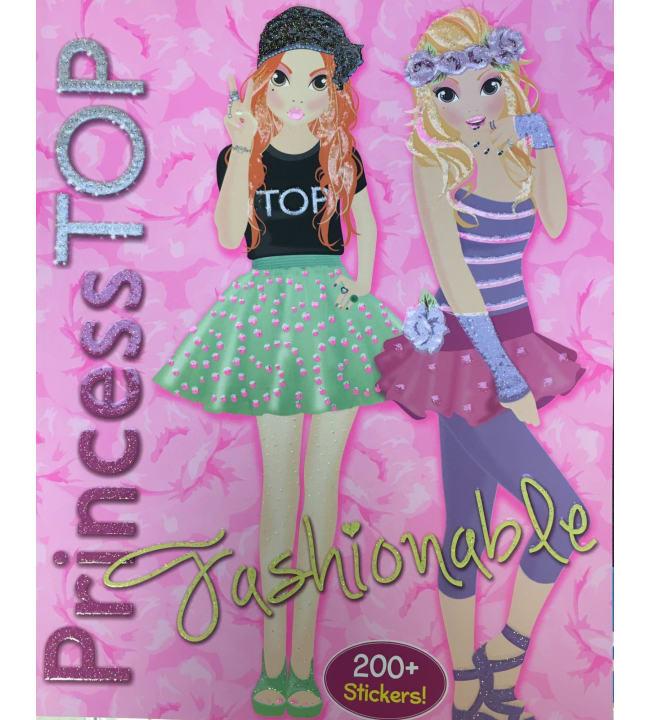 PrincessTOP Fashionable värityskirja