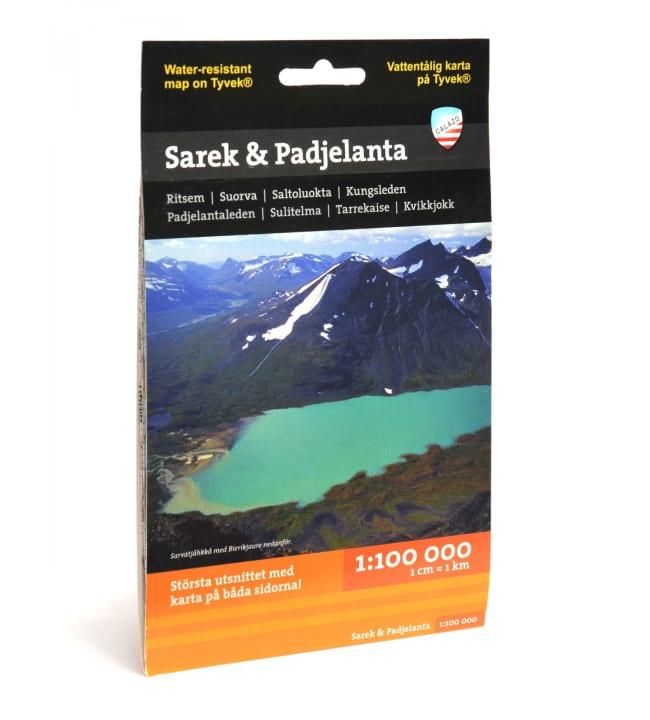 Calazo Sarek & Padjelanta tunturikartta 1:100 000