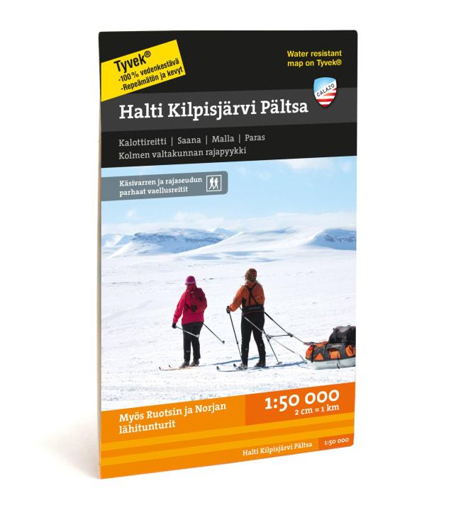 Calazo Halti Kilpisjärvi Pältsa tunturikartta 1:50 000
