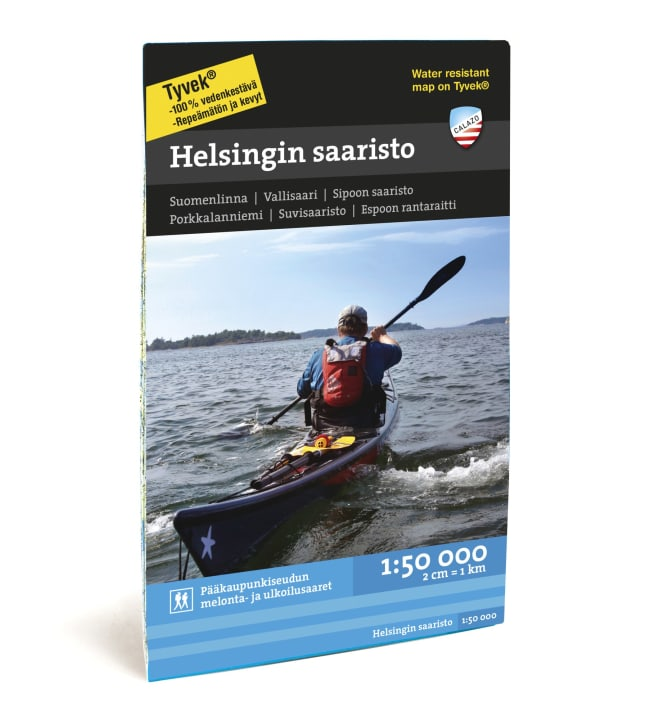 Calazo Helsingin saaristo vesistökartta 1:50 000