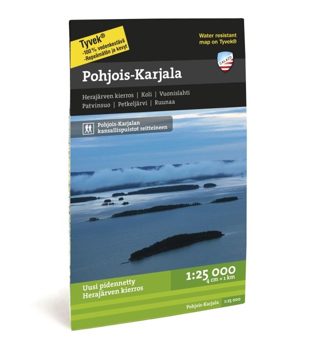 Calazo Pohjois-Karjala retkeilykartta 1:25 000
