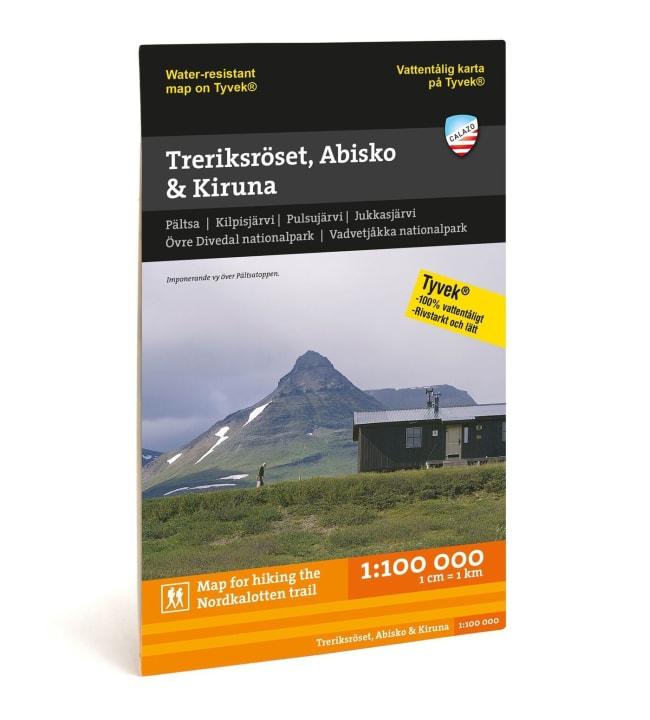 Calazo Treriksröset, Abisko & Kiruna tunturikartta 1:100 000