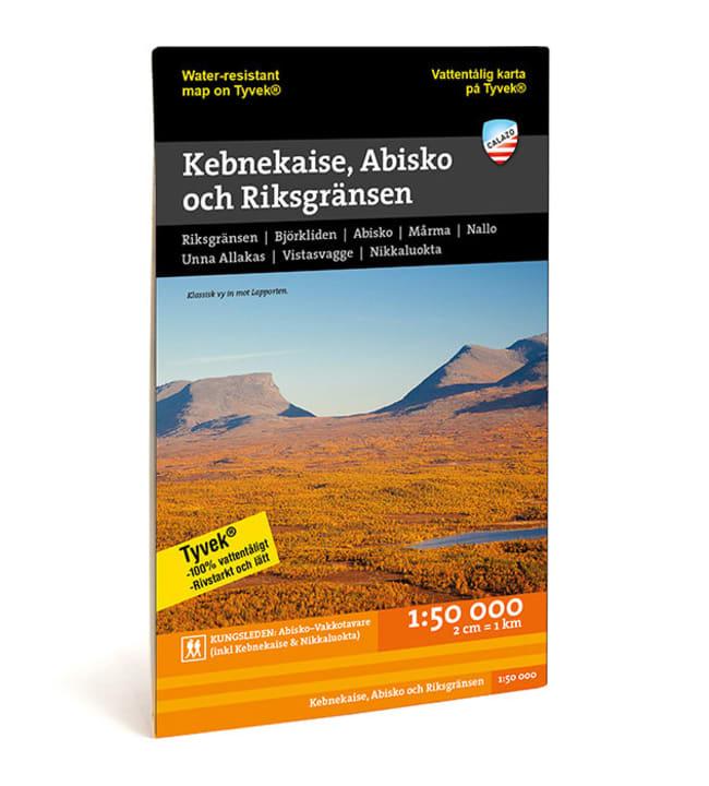 Calazo Kebnekaise, Abisko och Riksgränsen tunturikartta 1:50 000