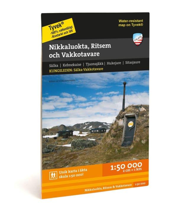 Calazo Nikkaluokta, Ritsem & Vakkotavare tunturikartta 1:50 000