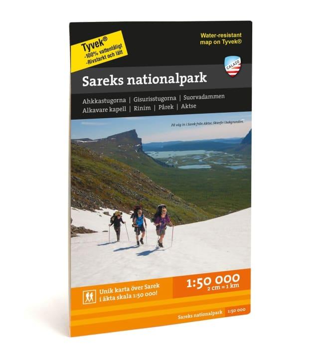 Calazo Sareks nationalpark tunturikartta 1:50 000