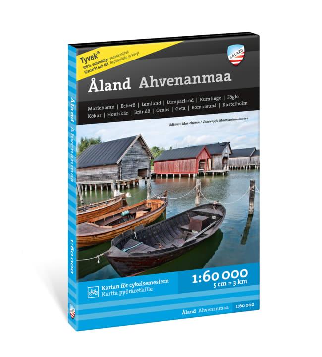Calazo Ahvenanmaa Åland vesistökartta 1:60 000