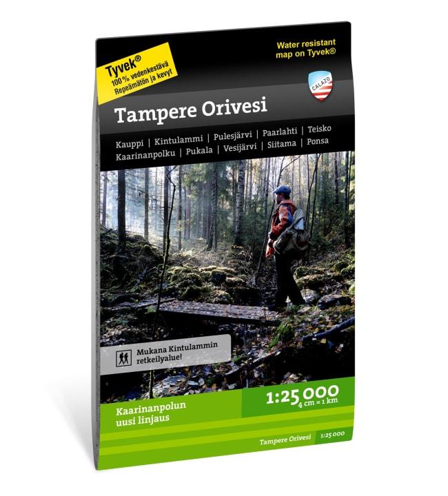 Calazo Tampere Orivesi retkeilykartta 1:25 000