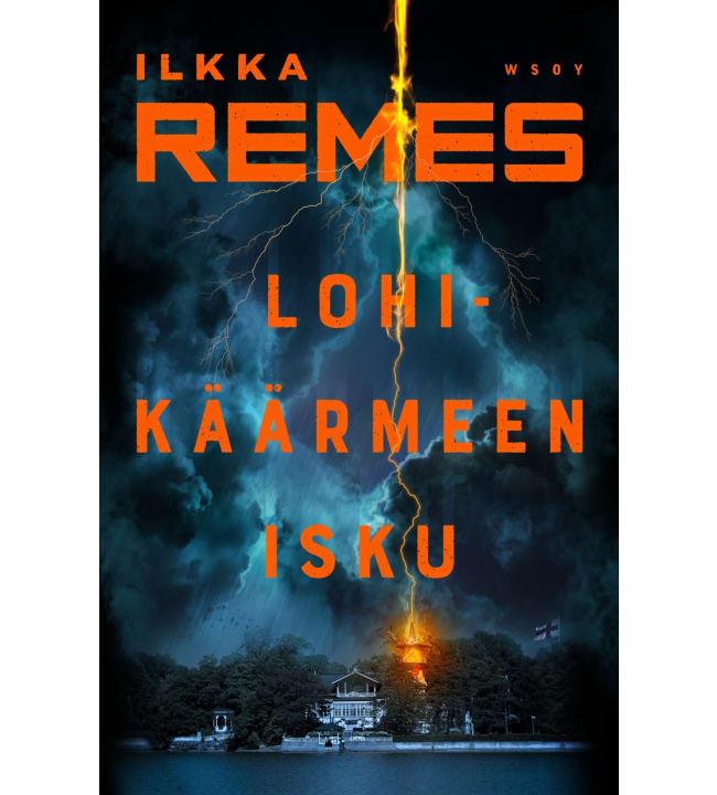Ilkka Remes: Lohikäärmeen isku   Karkkainen.com verkkokauppa