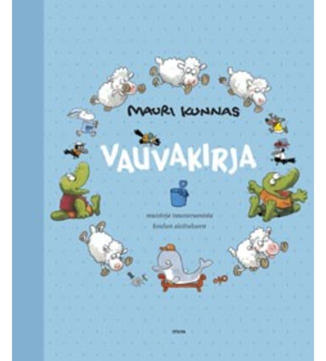 Mauri Kunnas: Vaaleansininen vauvakirja