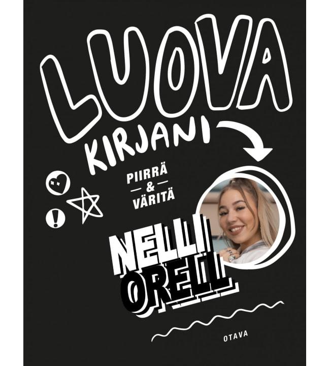 Nelli Orell: Luova kirjani - Piirrä ja väritä