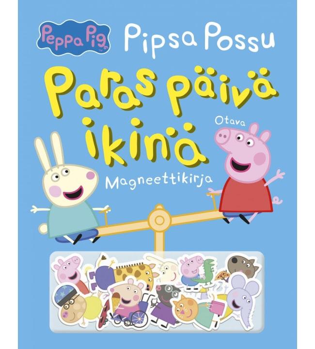 Pipsa Possu - paras päivä ikinä magneettikirja