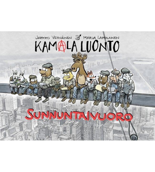 Jarkko Vehniäinen, Marja Lappalainen: Kamala luonto sunnuntaivuoro