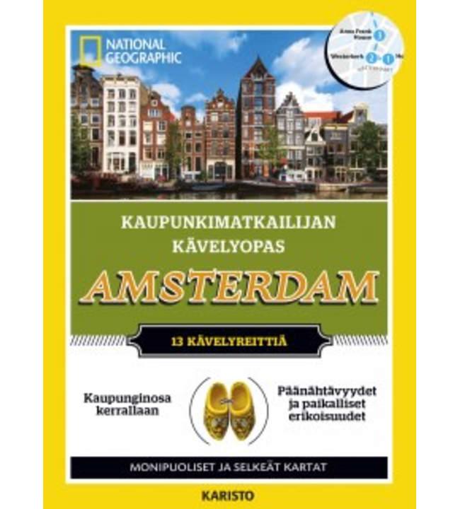 Pip Farquharson: Kaupunkimatkailijan kävelyopas - Amsterdam