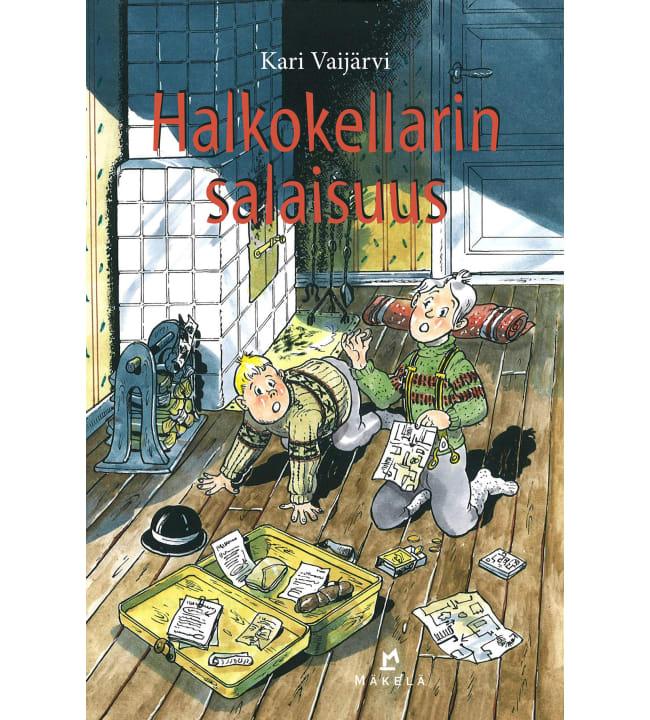 Kari Vaijärvi: Halkokellarin salaisuus