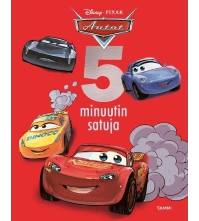 Disney Pixar Autot 5 minuutin satuja