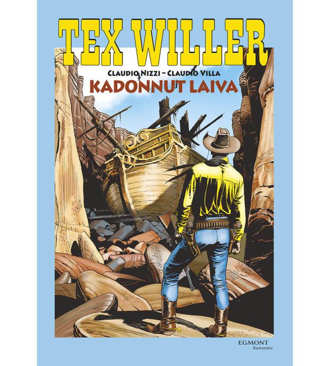 Tex Willer suuralbumi 31: Kadonnut laiva