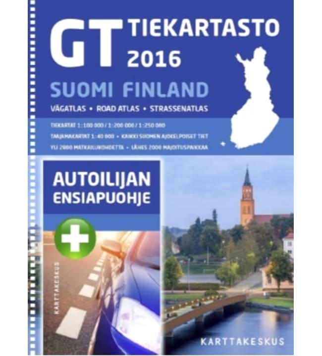 GT tiekartasto Suomi 2016