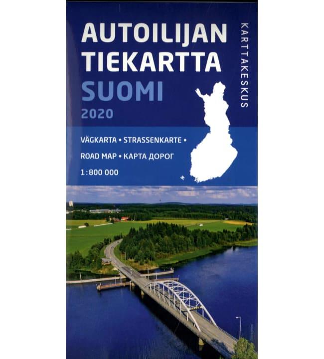 Autoilijan tiekartta Suomi 2020