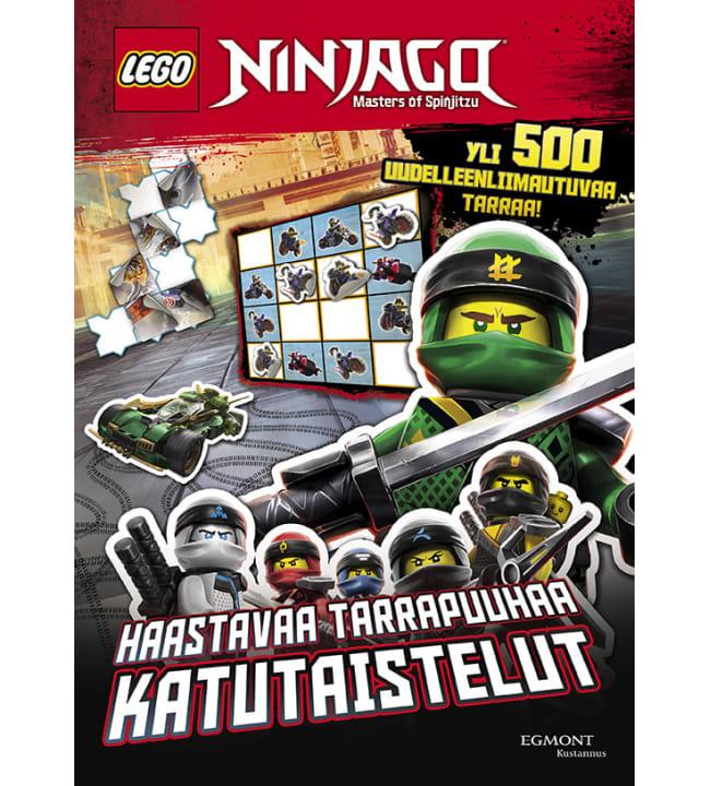 Lego Ninjago tarrapuuhakirja