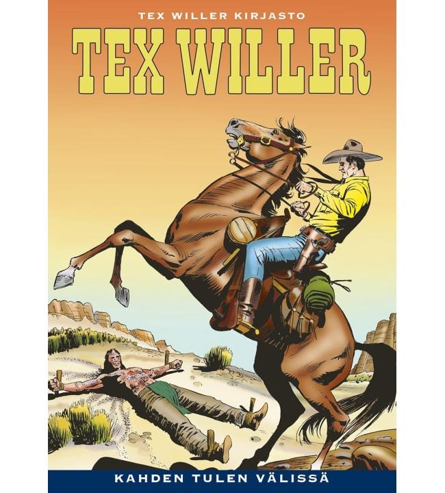 Tex Willer kirjasto 54: Kahden tulen välissä
