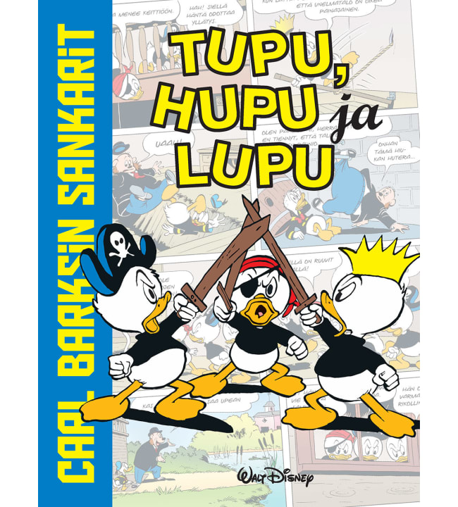 Carl Barksin sankarit: Tupu, Hupu, Lupu