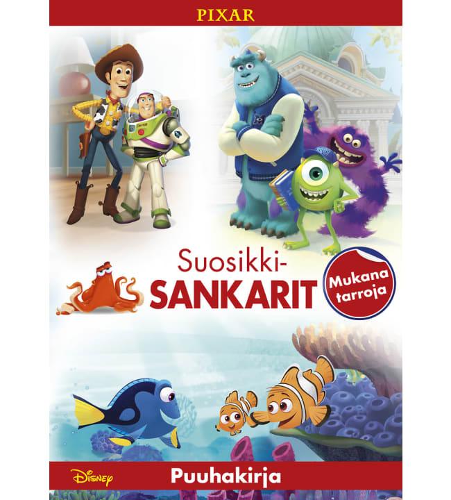 Disney Pixar Suosikkisankarit puuhakirja