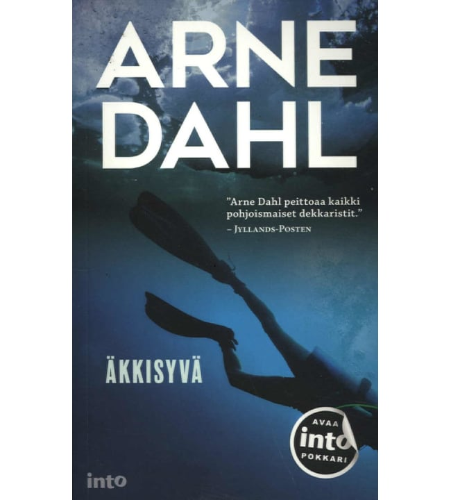 Arne Dahl: Äkkisyvä pokkari