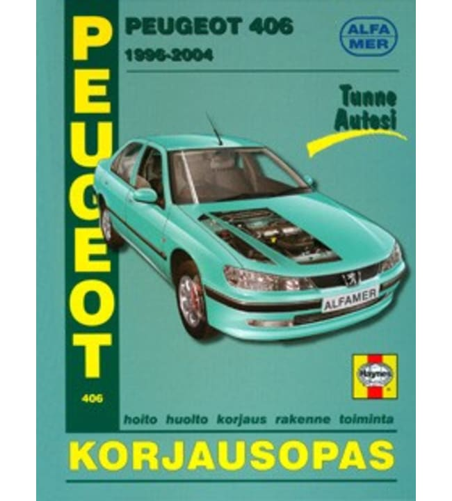 Alfamer Peugeot 406 1996-2004 korjausopas