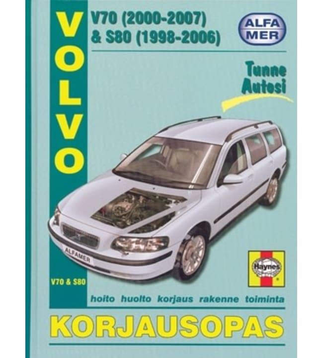 Alfamer Volvo V70 (2000-2007) & S80 (1998-2005) korjausopas