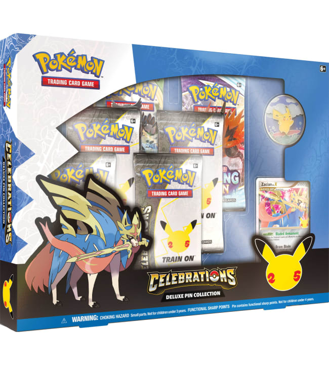 Pokemon Celebrations Deluxe Pin Collection