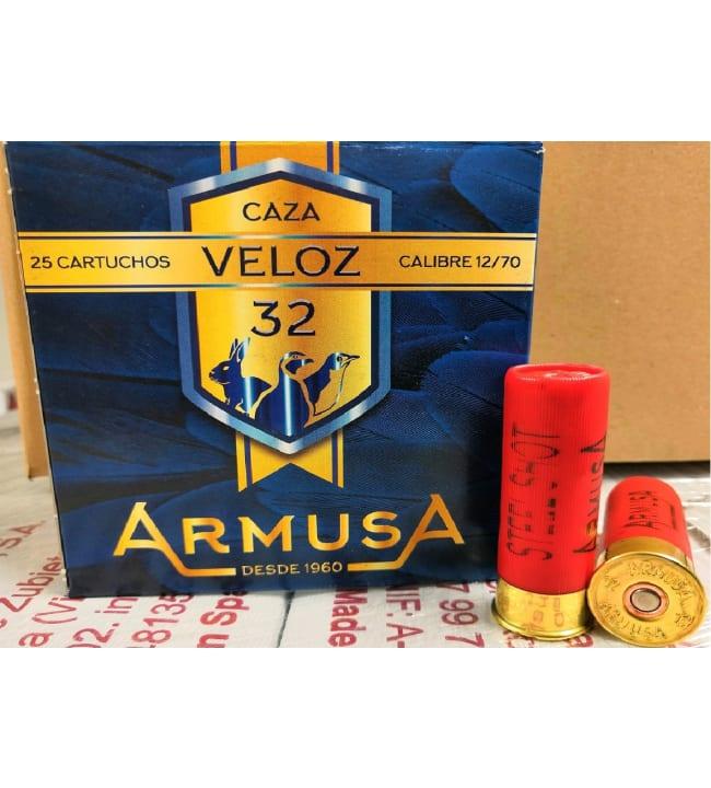 Armusa 12/70 Veloz 32g 25 kpl haulikonpatruuna