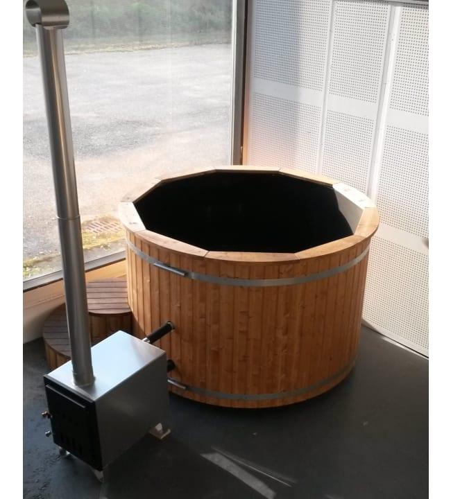 Fimex 675 kylpytynnyri ulkokamiinalla