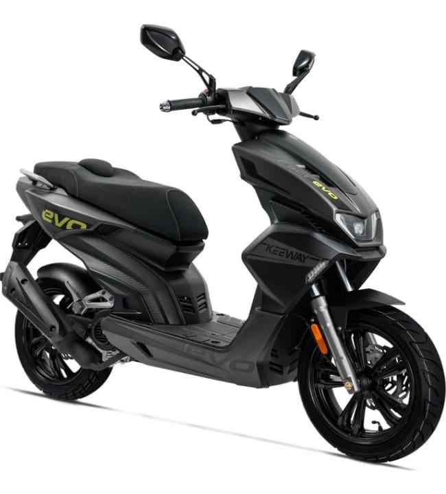 Keeway Fact Evo E5 musta skootteri