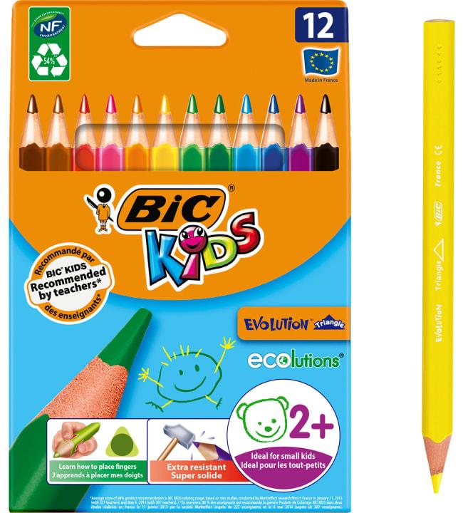 BIC Kids Evolution Triangle 12kpl kolmiovärikynä