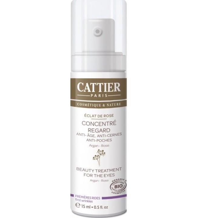 Cattier Argan & Ruusu 15 ml silmänympärysvoide