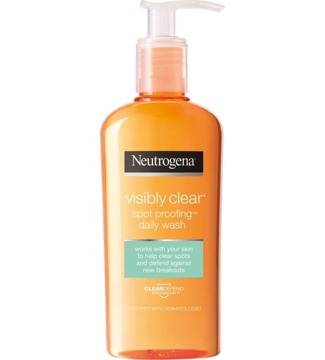 Neutrogena Clear & Defend Facial Wash 200 ml puhdistusgeeli