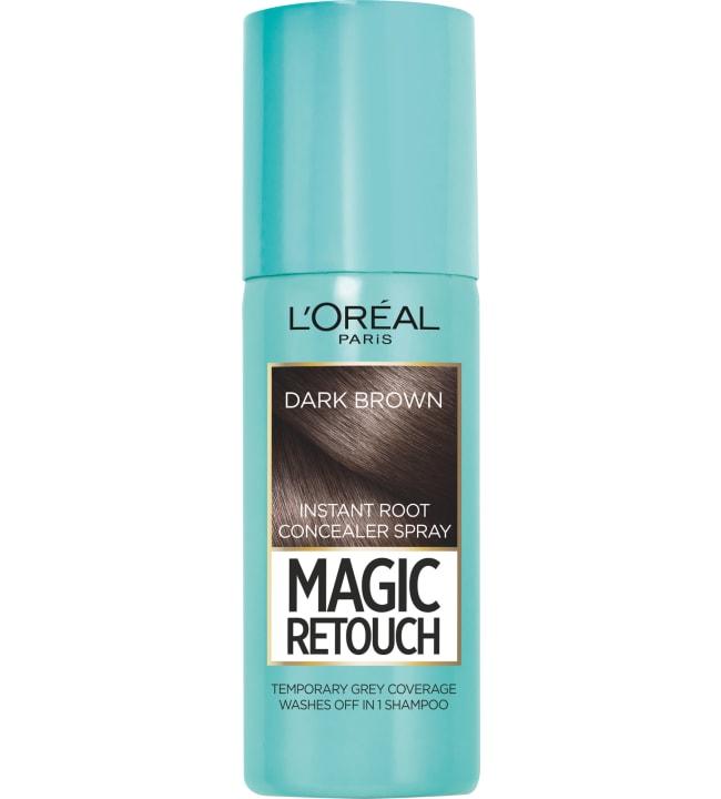 L'Oréal Paris Magic Retouch Dark Brown 75 ml suihkutettava tyvisävyte