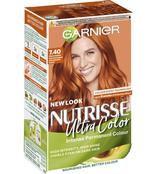 Garnier Nutrisse Cream 7.4 Ultra Color Intensiivinen kuparikestoväri